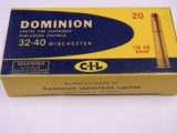 Winchester 32-40 Dominion Cartridges C.I.L. MFG.