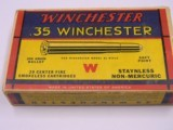 Winchester 35 Winchester with 250 Gr Soft Point Bullet