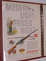 Winchester Western 1958 Advertising Fall Salesman Portfolio - 10 of 12