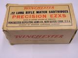 Winchester 22 long Rifle MATCH PRECISION EZXS Full Brick