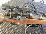 Very rare, Walther K43 Nazi Sniper Rifle w/Matching K43 Scope - 2 of 12