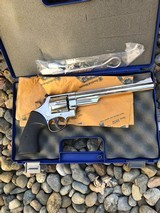 """Smith Wesson Mod 29-2 Nickel 8 1/4"""" 44mag in box"""