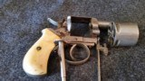 WEBLEY NO.2 REVOLVER 60% NICKLE WITH TRUE IVORY GRIPS SER #3060 - 3 of 17