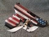 GLOCK 19 GEN4 BATTLEWORN U.S. FLAG CERAKOTE