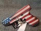 GLOCK 19 GEN4 BATTLEWORN U.S. FLAG CERAKOTE - 5 of 8