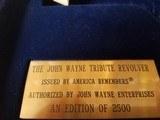 Uberti John Wayne Tbibute Revolver in 45LC Ser # JW0168 out of 2500 - 6 of 6