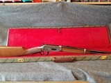 Engraved Winchester Model 94 Great Western Artists I Lever Action Carbine with Case Manufactured in 1982. - 2 of 23