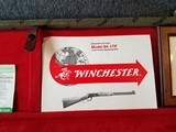 Engraved Winchester Model 94 Great Western Artists I Lever Action Carbine with Case Manufactured in 1982. - 12 of 23