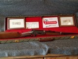 Engraved Winchester Model 94 Great Western Artists I Lever Action Carbine with Case Manufactured in 1982.