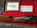 Engraved Winchester Model 94 Great Western Artists I Lever Action Carbine with Case Manufactured in 1982. - 15 of 23