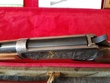 Engraved Winchester Model 94 Great Western Artists I Lever Action Carbine with Case Manufactured in 1982. - 22 of 23
