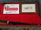Engraved Winchester Model 94 Great Western Artists I Lever Action Carbine with Case Manufactured in 1982. - 16 of 23