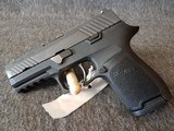 Sig Sauer P320C with box like new - 2 of 4