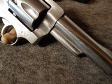 Super Nice Ruger Security Six Stainless 357 - 6 of 12