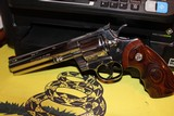 COLT PYTHON ELITE 1998 WITH BOX AND PAPER WORK AS WELL NAIR MINT FOR AGE STAINLESS BRIGHT ALL FACTORY....... - 14 of 15