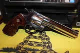 COLT PYTHON ELITE 1998 WITH BOX AND PAPER WORK AS WELL NAIR MINT FOR AGE STAINLESS BRIGHT ALL FACTORY....... - 15 of 15