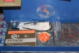 COLT PYTHON ELITE 1998 WITH BOX AND PAPER WORK AS WELL NAIR MINT FOR AGE STAINLESS BRIGHT ALL FACTORY....... - 2 of 15