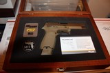 SIG SAUER M17-COMMEMORATIVE P320F M17 COMMEMORATIVE EDITION 9MM # 4018 out of 5000 MADE ONLY... AWSOME COLLECTABLE...... - 8 of 10