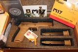 SIG SAUER M17-COMMEMORATIVE P320F M17 COMMEMORATIVE EDITION 9MM # 4018 out of 5000 MADE ONLY... AWSOME COLLECTABLE...... - 4 of 10