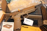 SIG SAUER M17-COMMEMORATIVE P320F M17 COMMEMORATIVE EDITION 9MM # 4018 out of 5000 MADE ONLY... AWSOME COLLECTABLE...... - 2 of 10