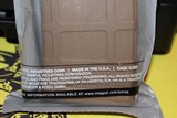 MAGPUL FDE PMAG 30 ROUND W/DUST COVER AR/M4 NEW - 4 of 6
