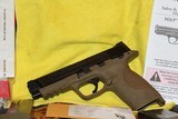 """SMITH AND WESSON M&P 45ACP 4.5"""" BI TONE FDE FACTORY BLACK SLIDE NEW COMPLETE PACKAGE,,,, - 4 of 17"""