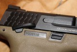 """SMITH AND WESSON M&P 45ACP 4.5"""" BI TONE FDE FACTORY BLACK SLIDE NEW COMPLETE PACKAGE,,,, - 8 of 17"""