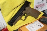 """SMITH AND WESSON M&P 45ACP 4.5"""" BI TONE FDE FACTORY BLACK SLIDE NEW COMPLETE PACKAGE,,,, - 2 of 17"""