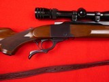 Ruger No. 1 .30-06 Mfg. 1981 with scope