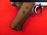 Ruger Mark II semi- auto with 10 inch target barrel .22 LR - 6 of 18