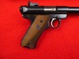 Ruger Mark II semi- auto with 10 inch target barrel .22 LR - 3 of 18
