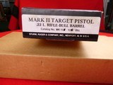 Ruger Mark II semi- auto with 10 inch target barrel .22 LR - 16 of 18