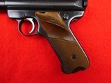 Ruger Mark II semi- auto with 10 inch target barrel .22 LR - 8 of 18