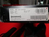 Browning Model 42 Limited Edition **NEW IN BOX** .410 pump - 16 of 16