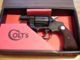 """Colt Detective Special.32Colt NP NIB MFG 1969 Blue 2"""" BBl. Hard to Find little Colt"""