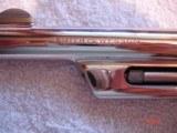 "S&W Model .38/44 Heavy Duty Model of 1950 Bright nickel 5""BBl.MFG 1955 5-screw Excellent in Custom Case with knife Etc. Elk Stag Stocks - 10 of 15"
