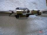 "S&W Model .38/44 Heavy Duty Model of 1950 Bright nickel 5""BBl.MFG 1955 5-screw Excellent in Custom Case with knife Etc. Elk Stag Stocks - 15 of 15"