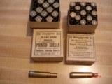 Vintage Winchester Unprimed Brass Rifle Ctgs. .257 Roberts, .30/40 Krag, .220 Swift in 25 Rnd. Vintage Boxes