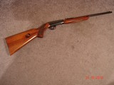 Browning .22 Semi-auto Wheel sight 1st year MFG 1957 .22LR take down Semi-Auto Excellent Belgium grooved Rec. Grade I