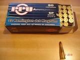 Hard to Find .22 Remington Jet Ctgs by Prvi-partizan 50 Round Boxes