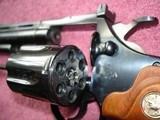 """Colt Diamondback Blue .22LR. 4"""" BBl. MFG in 1981Mint all Original Revolver Walnut Stocks with Gold Medallions - 11 of 15"""
