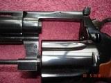 """Colt Diamondback Blue .22LR. 4"""" BBl. MFG in 1981Mint all Original Revolver Walnut Stocks with Gold Medallions - 10 of 15"""