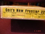 """Colt New Frontier SA .22Cal. Rare Model G2241 4 3/4"""" BBl. 1st Year 1971 Mint with Box Etc.Single Cyl. 1 of 2,383 Very hard to find! - 11 of 15"""