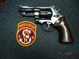 """S&W Model 27-2 Hard to find 3 1/2"""" BBl. Blue MFG 1975 Rosewood Target stocks, Mint Over All, N-Frame Beauty! - 1 of 14"""