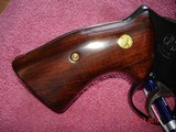"""S&W Model 27-2 Hard to find 3 1/2"""" BBl. Blue MFG 1975 Rosewood Target stocks, Mint Over All, N-Frame Beauty! - 7 of 14"""