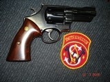 """S&W Model 27-2 Hard to find 3 1/2"""" BBl. Blue MFG 1975 Rosewood Target stocks, Mint Over All, N-Frame Beauty! - 12 of 14"""