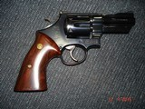 """S&W Model 27-2 Hard to find 3 1/2"""" BBl. Blue MFG 1975 Rosewood Target stocks, Mint Over All, N-Frame Beauty! - 2 of 14"""