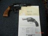 "Rare S&W Mod. 547 K-frame 9m/m luger Sq.Butt Rvolver MFG 1983 4""BBl.Mint only 3721 made - 2 of 15"