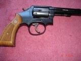 "Rare S&W Mod. 547 K-frame 9m/m luger Sq.Butt Rvolver MFG 1983 4""BBl.Mint only 3721 made - 13 of 15"