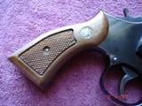 "Rare S&W Mod. 547 K-frame 9m/m luger Sq.Butt Rvolver MFG 1983 4""BBl.Mint only 3721 made - 7 of 15"